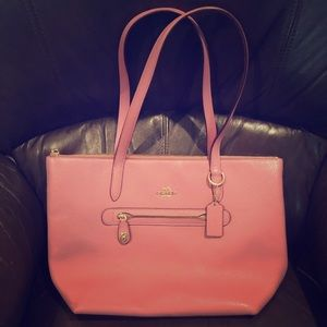 Coach Taylor Tote in Rose